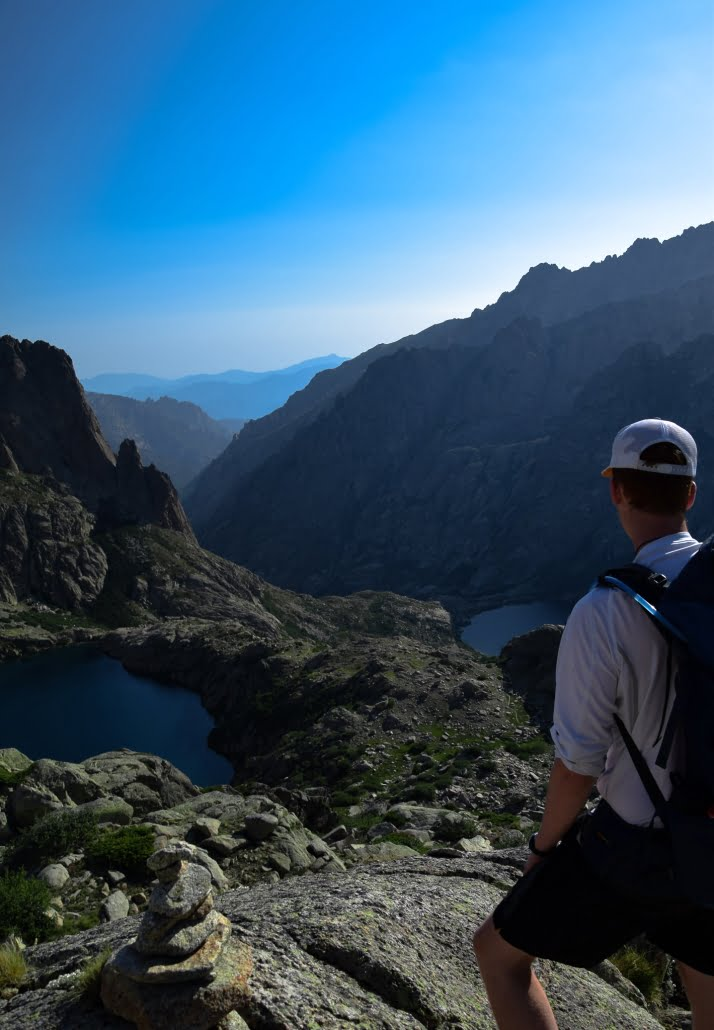 Gr20 Korsika Berge