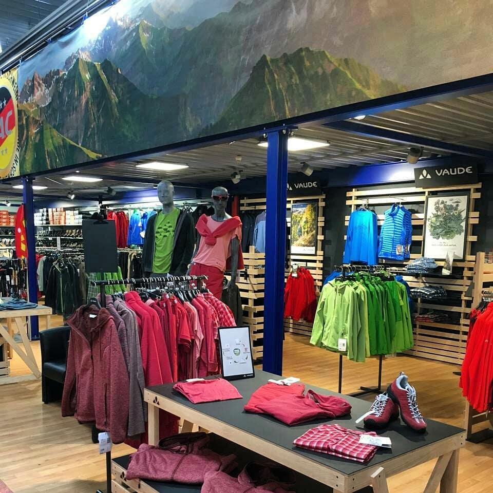 Vaude Shop bei Sport Ludwig in Schweinfurt