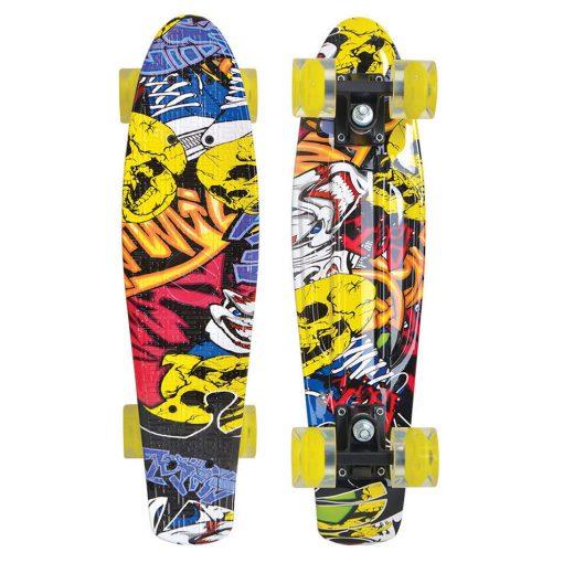 Schildkröt Retro Skateboard FREE SPIRIT 22 P 510782